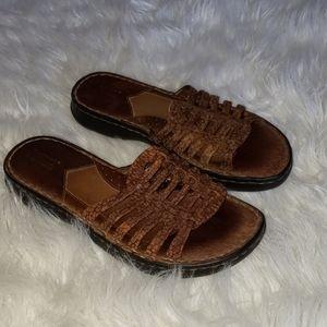 Born   Leather sandles womans size 8